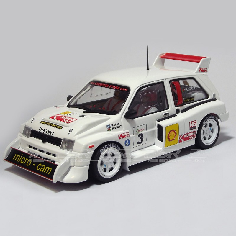 MSC Competition MG Metro 6R4 No.3 Colin McRae Donegal Rally 2006 ...