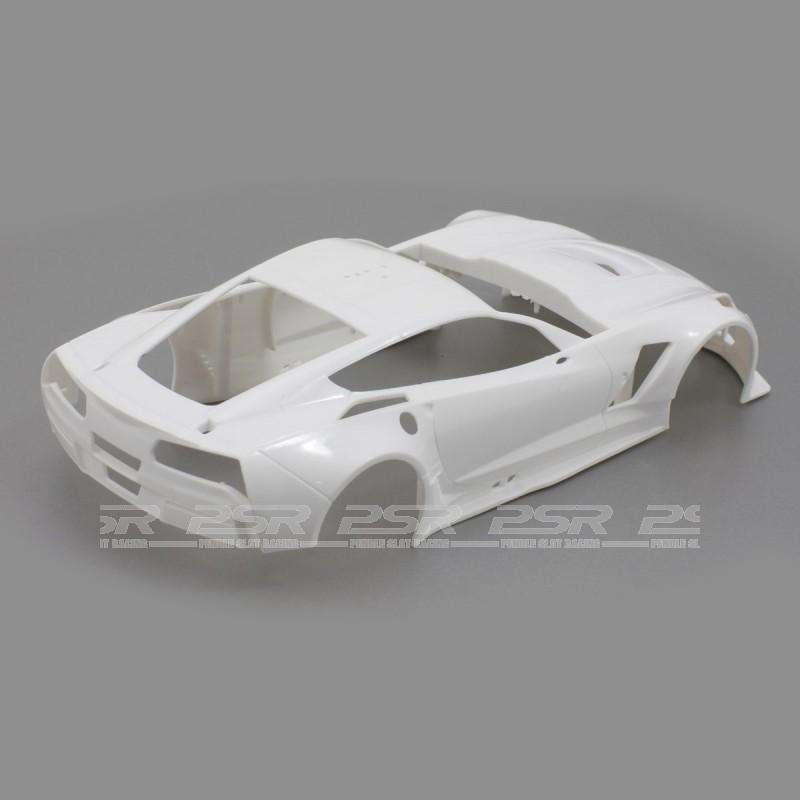 Scaleauto 1/24 Chevrolet Corvette C7R White Racing Kit