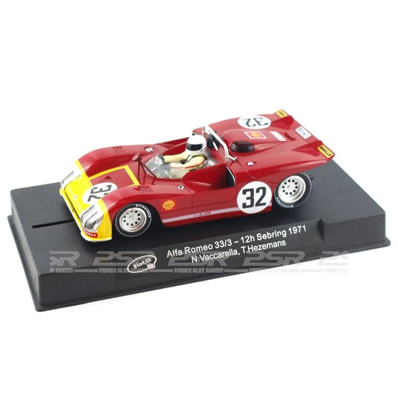Slot.it Alfa Romeo 33/3 No.32 12h Sebring 1971 (SICA11H