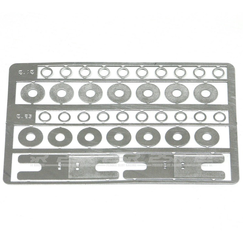 Slot.it SIPA47 Set of Spacers for Hubs and Bushings 0.10 0.25mm thick