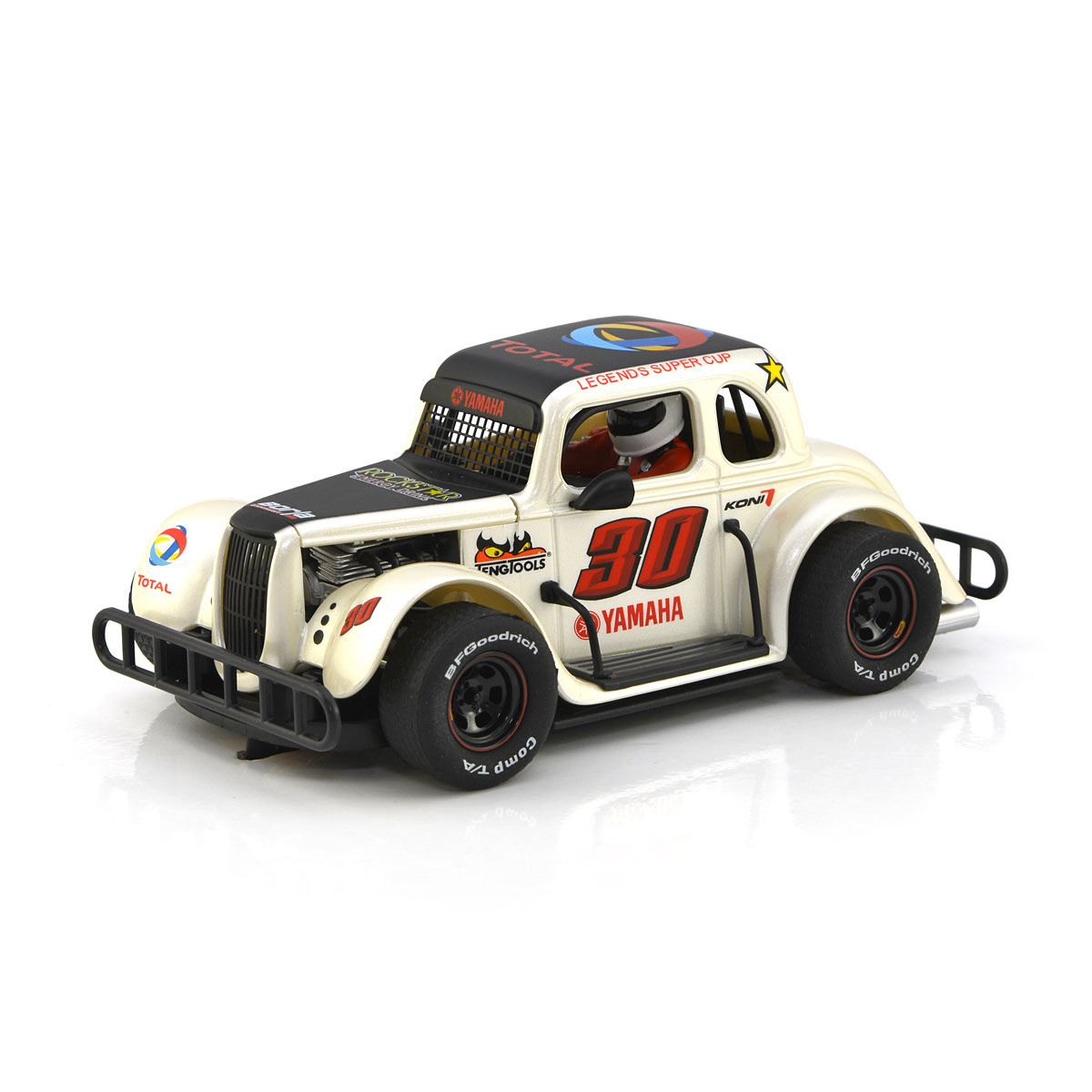 Pioneer Legends Racer 34 Ford Coupe No 30 Pearl White P081