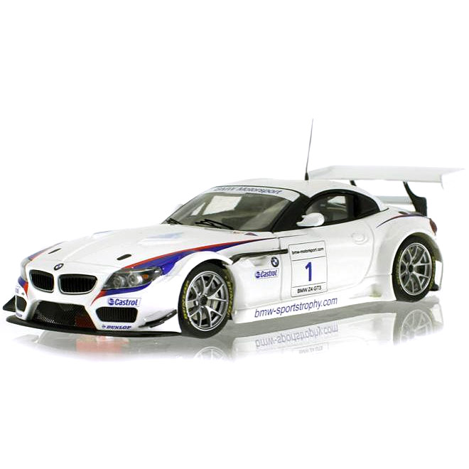 Bmw Z4 Used Cars: Scaleauto BMW Z4 GT3 No.1 Presentation (SC-6017