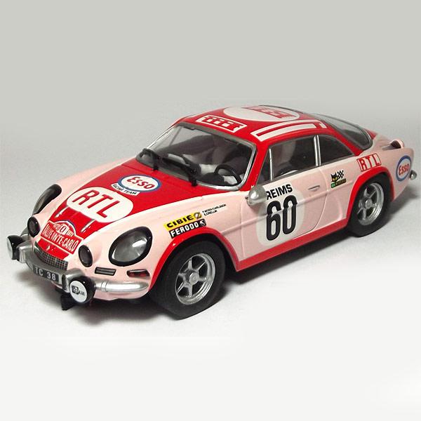 Renault Alpine A110: SCX Renault Alpine A110 Red/Pink (A10082
