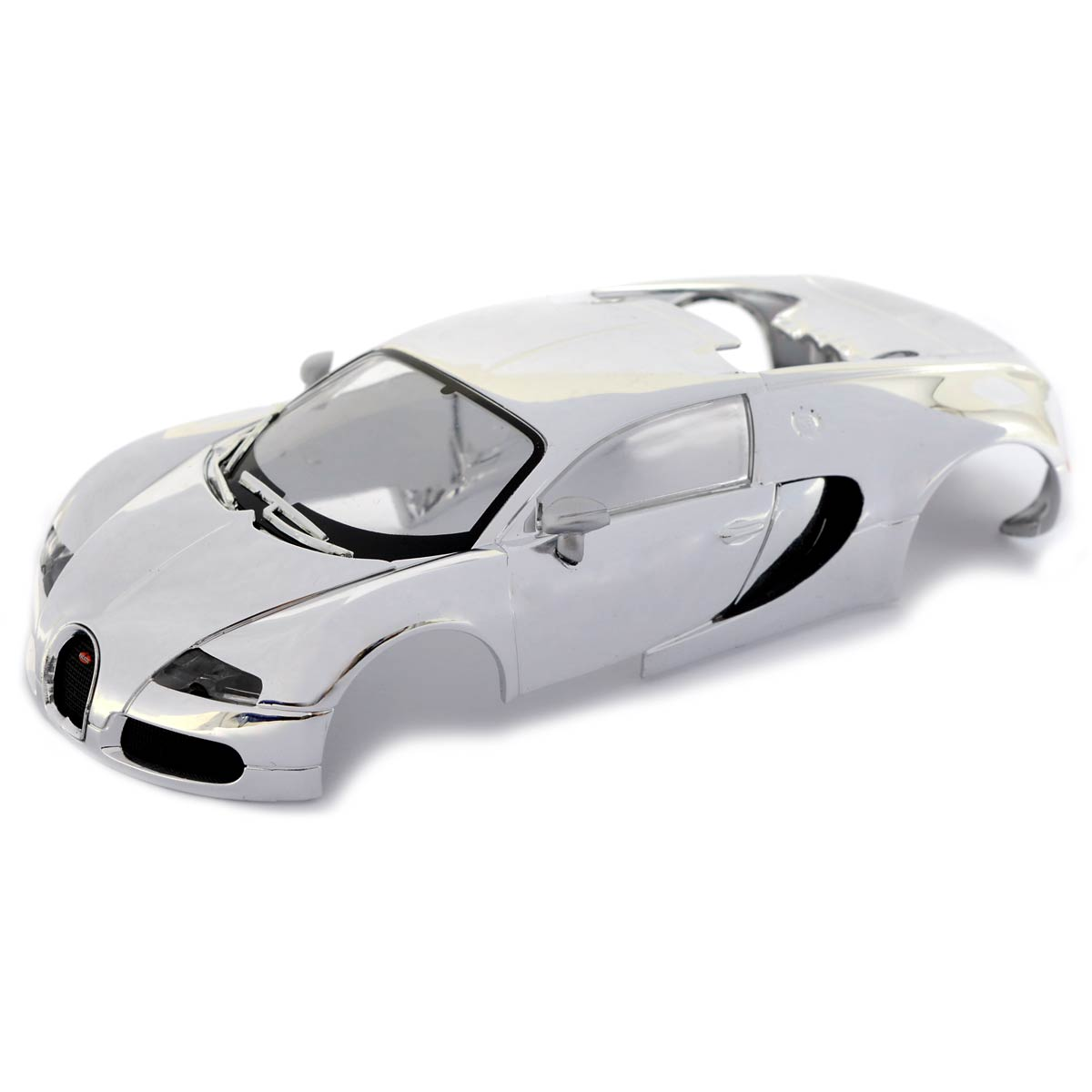 scalextric bugatti veyron chrome body w10187. Black Bedroom Furniture Sets. Home Design Ideas