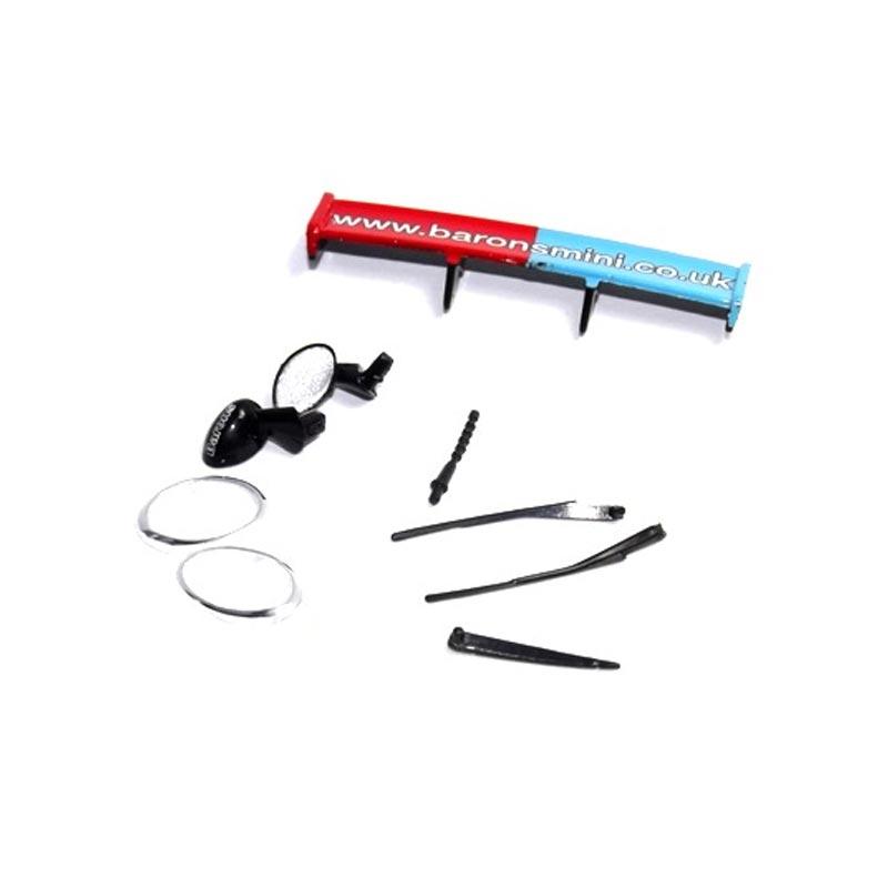 scalextric accessory pack mini cooper 2005  w9259