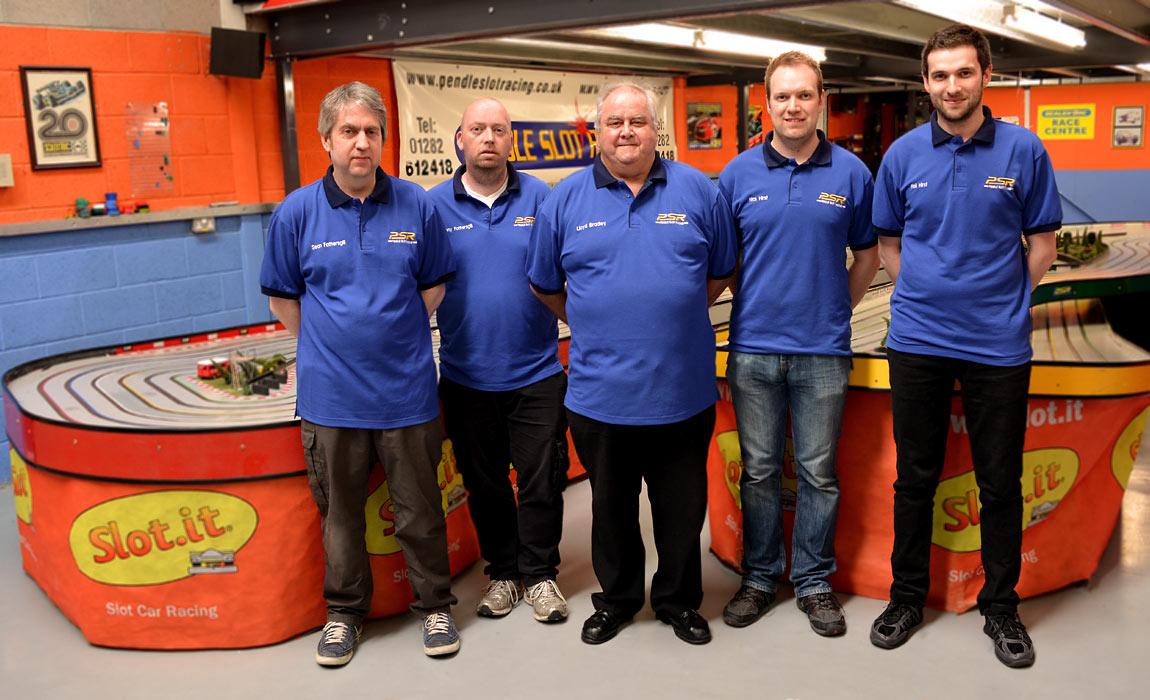 Pendle Slot Racing Staff