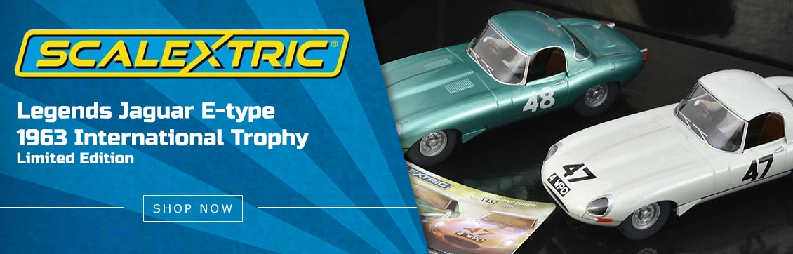 Scalextric Legends Jaguar E-type 1963