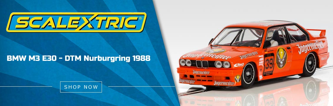 Scalextric BMW E30 M3 1988 Mario Ketterer DTM