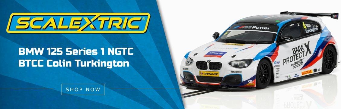Scalextric BTCC BMW 125 Series 1 NGTC Colin Turkington