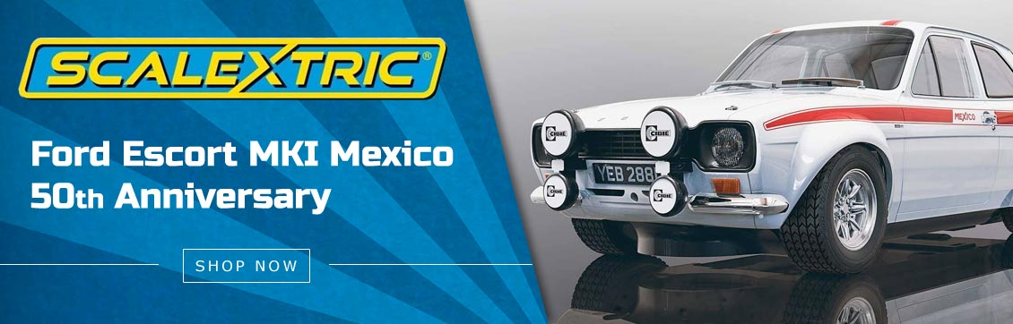 Scalextric Ford Escort MKI Mexico