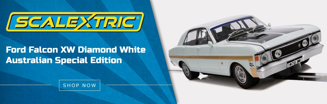 Scalextric Ford Falcon XW Diamond White