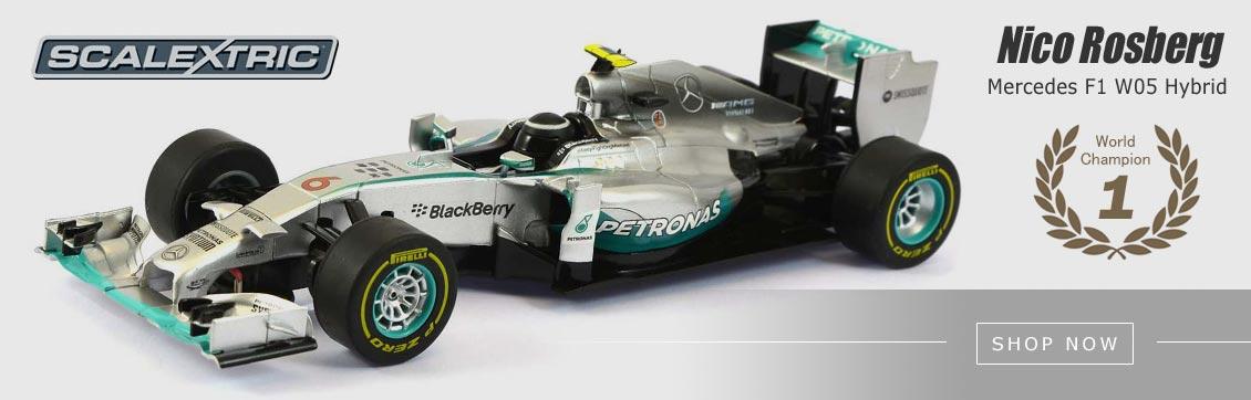 Scalextric Mercedes F1 Nico Rosberg