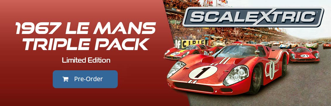 Scalextric 1967 Le Mans Triple Pack