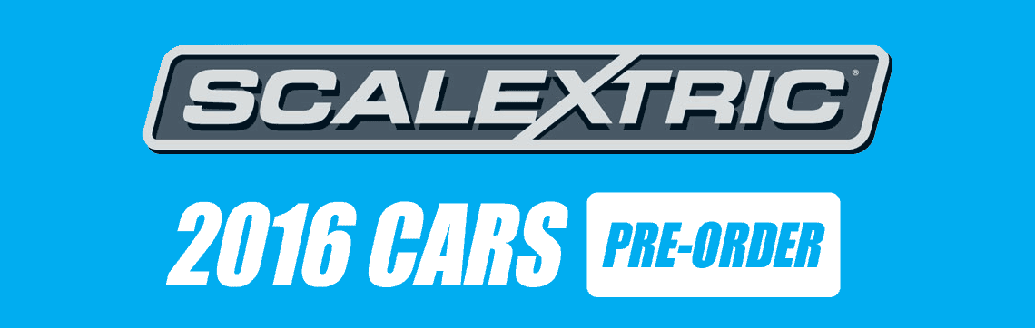Scalextric 2016 Cars