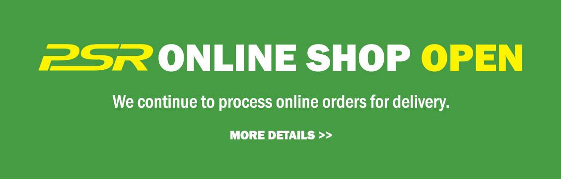 PSR Online Shop Open