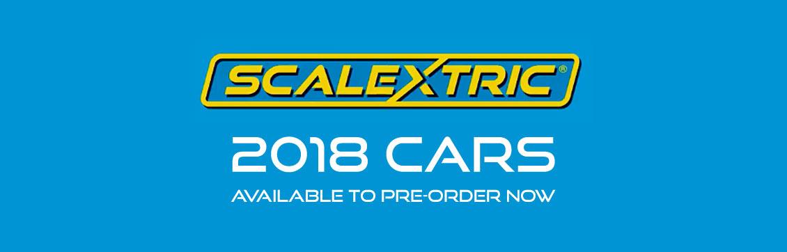 Scalextric 2018 Range