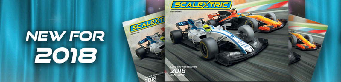 Scalextric 2018 Cars