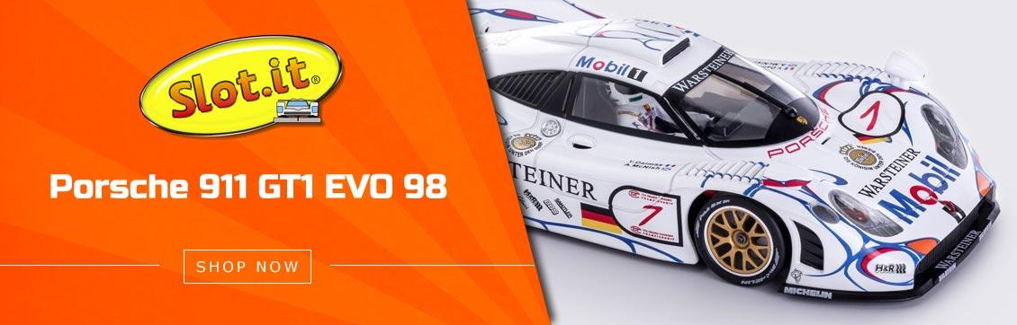 Slot.it Porsche 911 GT1 EVO 98 No.7 Warsteiner