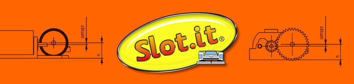 Slot.it Inline Crown Gears