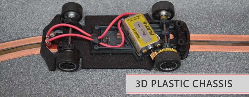 Sloting Plus 3D Chassis Conversion