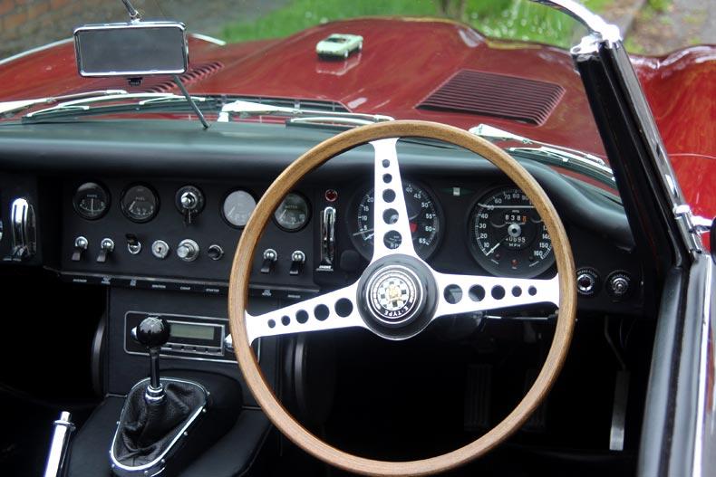 Jaguar E1A 60th Anniversary Historic Drive