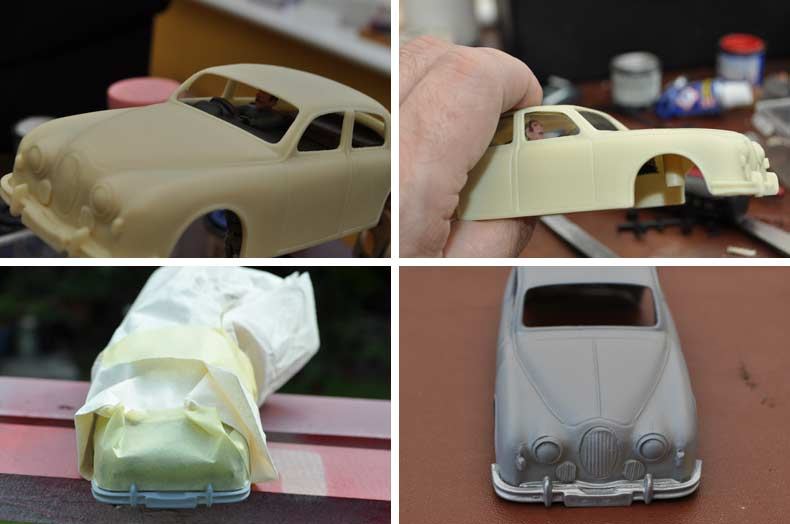 Jaguar MK1 Resin Kit