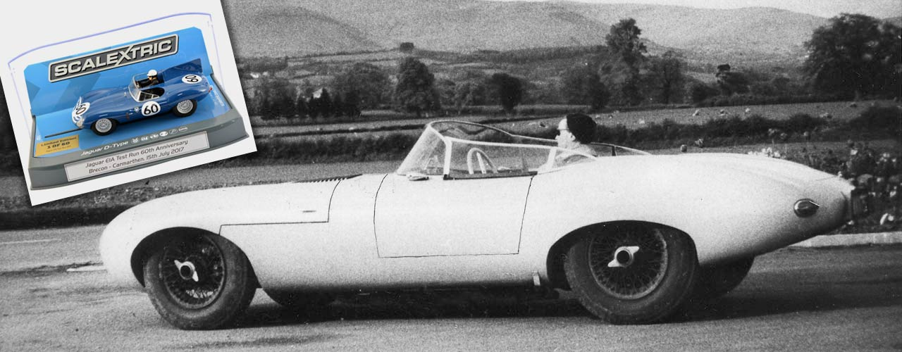 Jaguar E1A 60th Anniversary Test Run