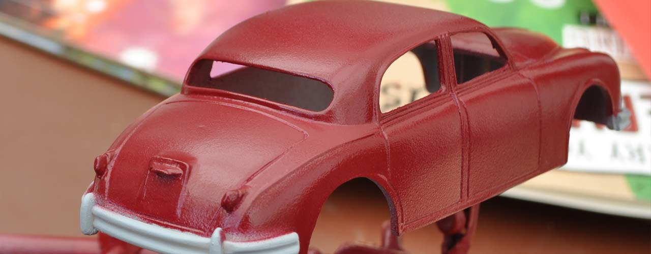 Jaguar MKI Resin Kit Build