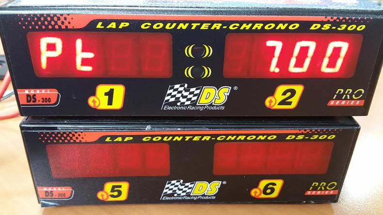 DS Lap Counters with Race Coordinator