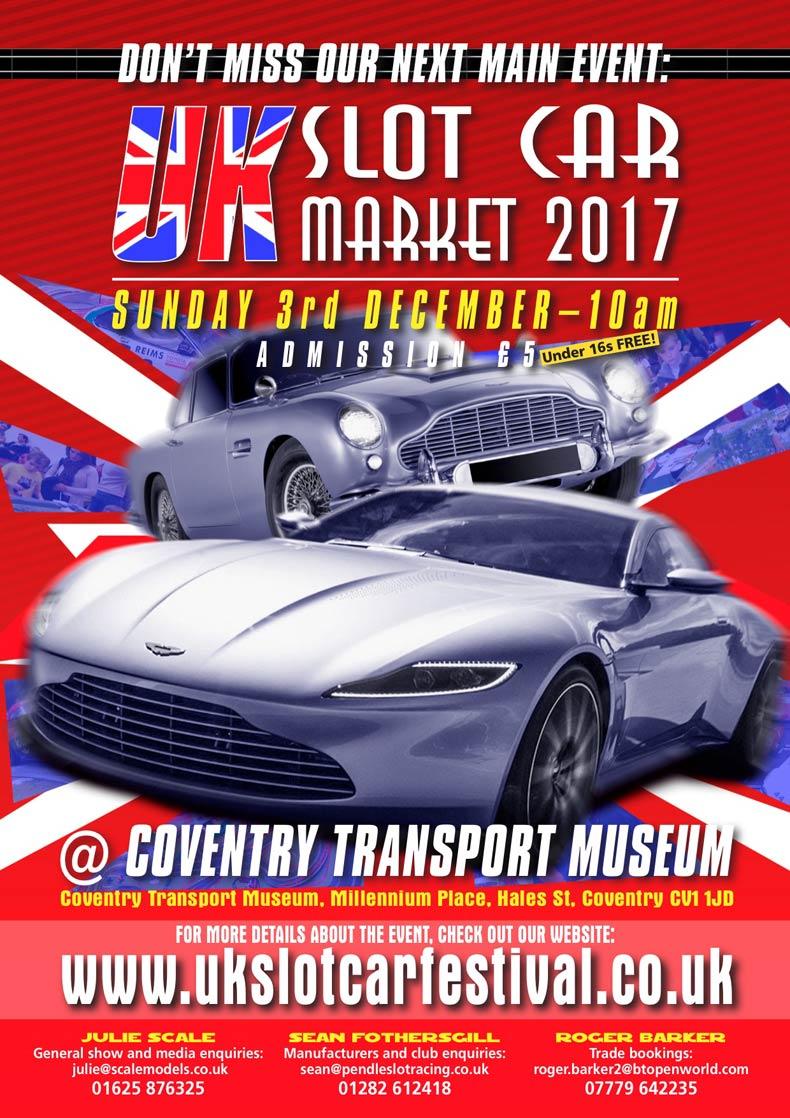 Festive Slot Car Market 2017