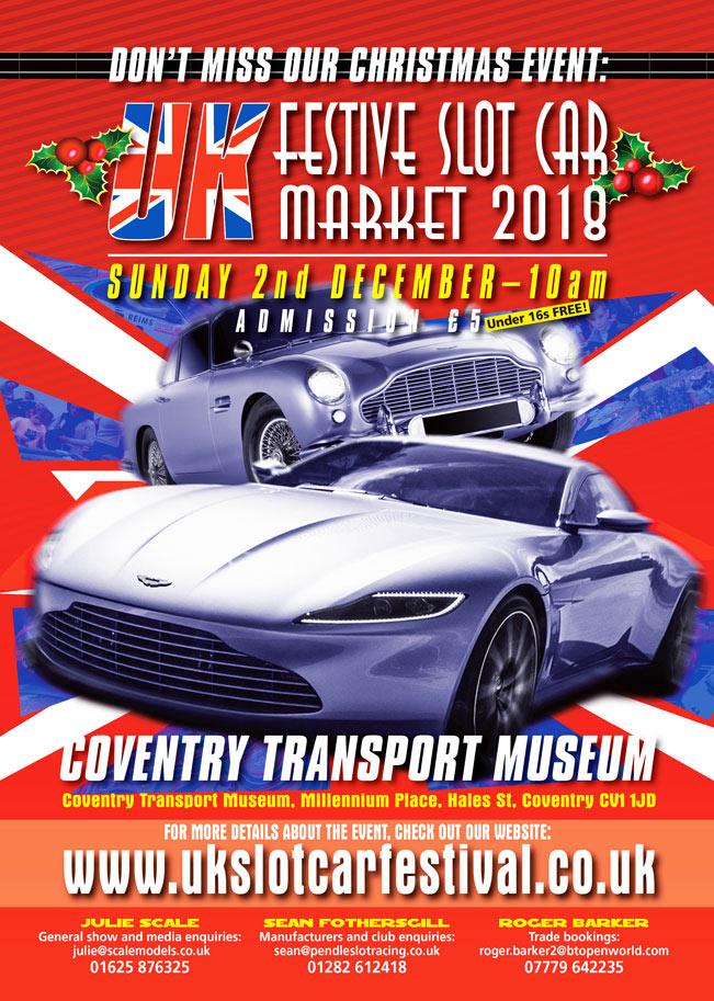 Festive Slot Car Market 2018