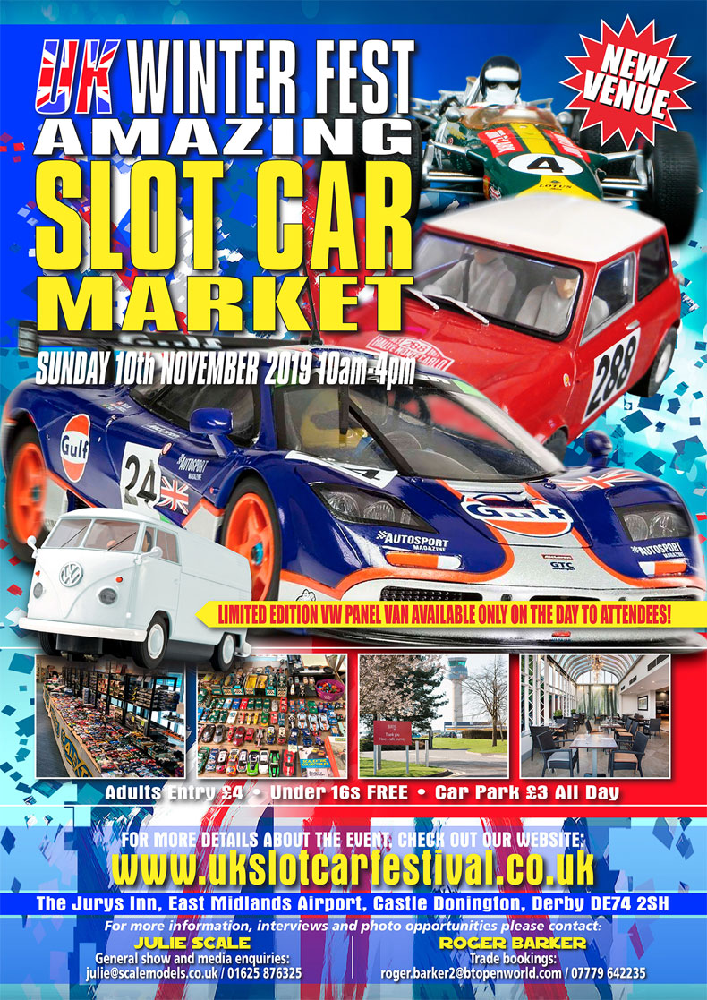 Festive Slot Car Market