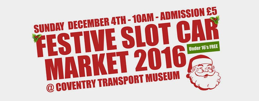 Festive Slot Car Market 2016