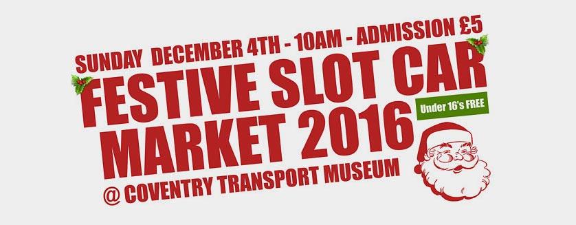 Festive Slot Car Market 2016