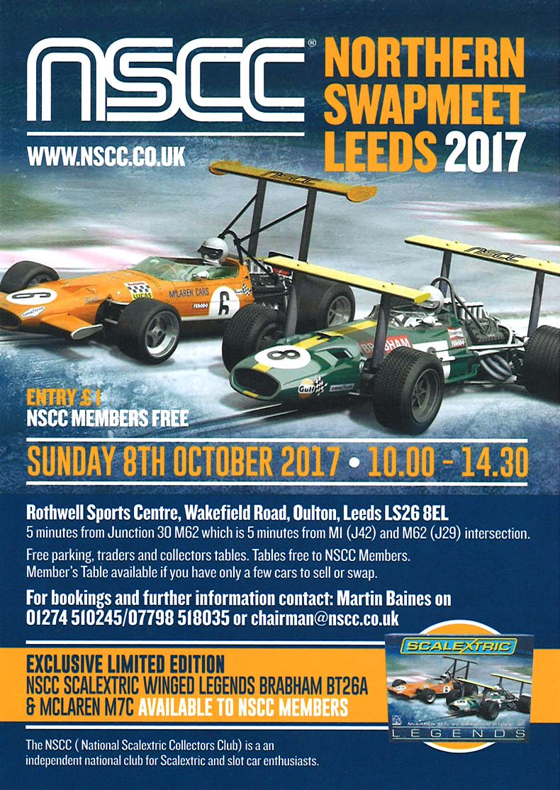 NSCC Scalextric Swapmeet Leeds 2017
