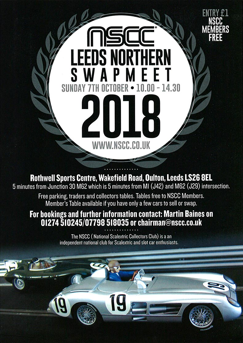 NSCC Scalextric Swapmeet Leeds