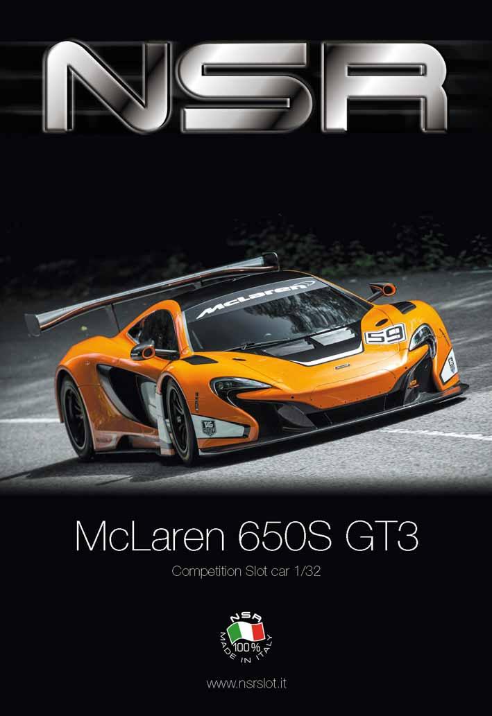 NSR McLaren 650S GT3