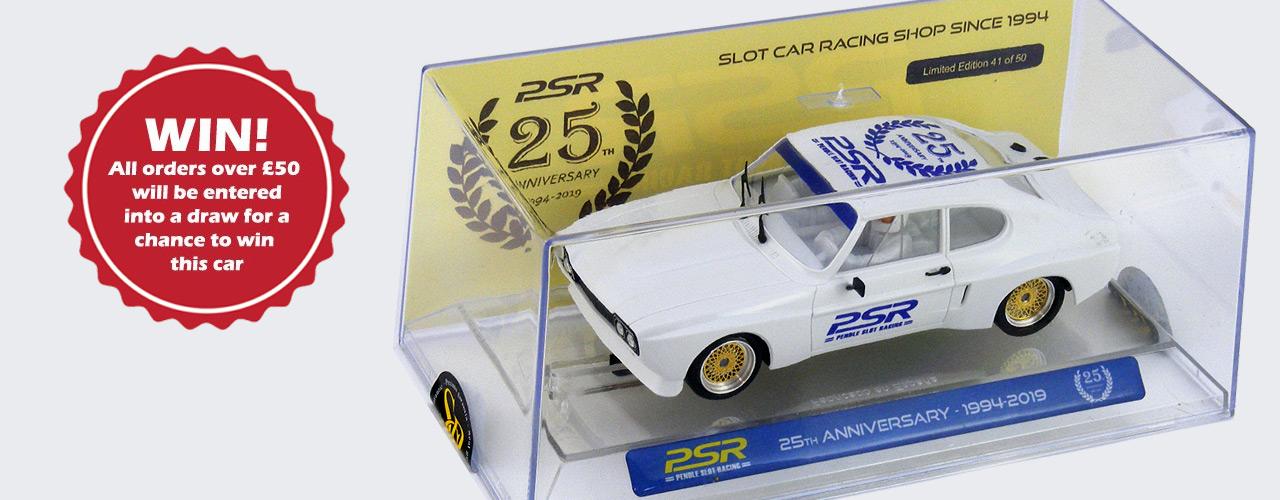 Win a SRC Ford Capri 'PSR 25th Anniversary' Car