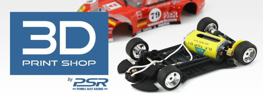 New RevoSlot Body & PSR 3D Chassis Range