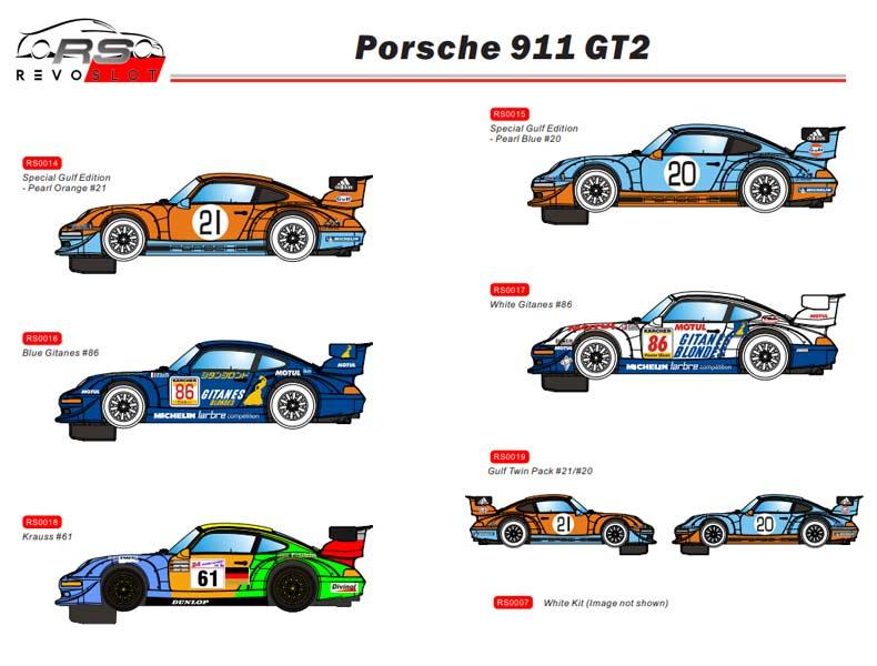 RevoSlot Porsche 911 GT2