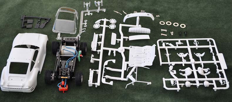 Scaleauto Porsche 959 Kit Contents