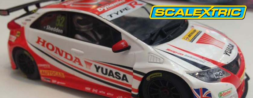 First Shots of Scalextric 2016 Cars