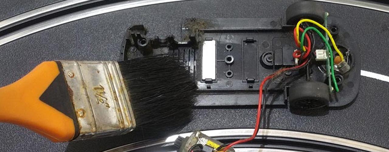 Scalextric Car Maintenance