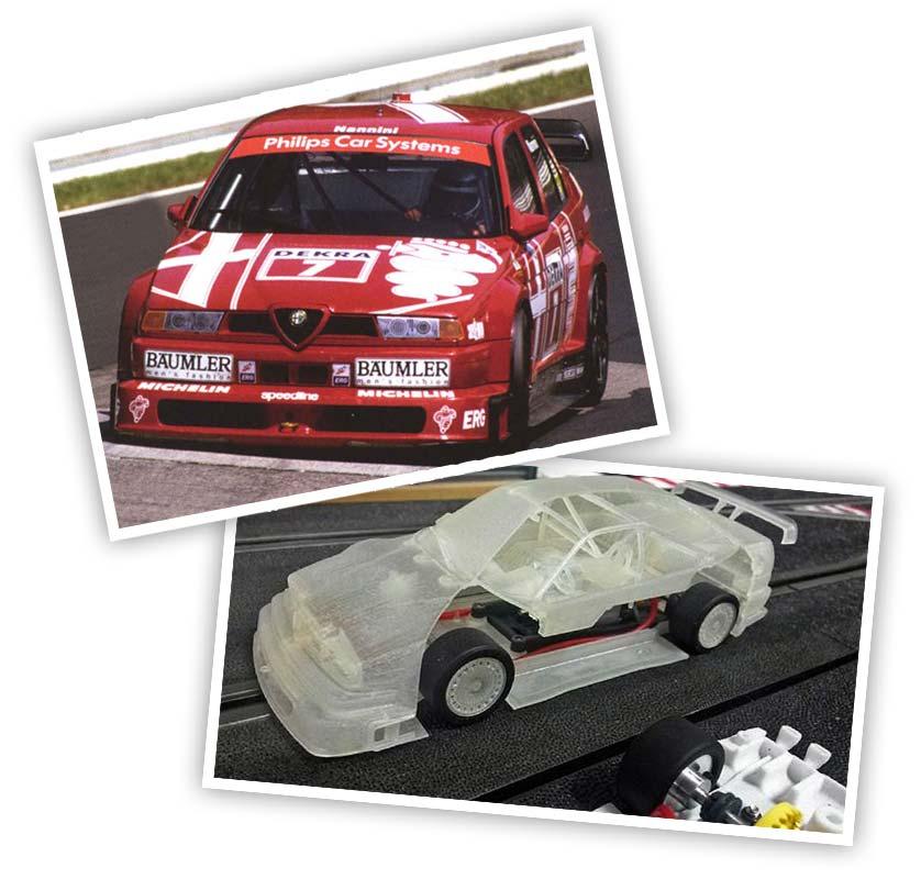 Slot.it Alfa Romeo 155 V6 Ti No.7 DTM 1993 SICA35A
