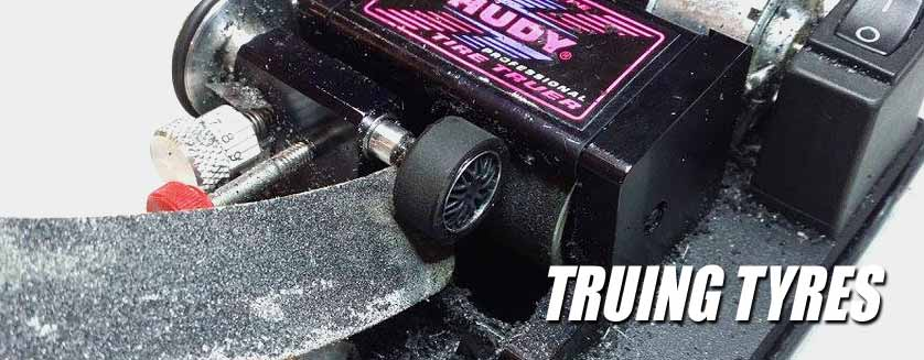 How to true your slot car tyres