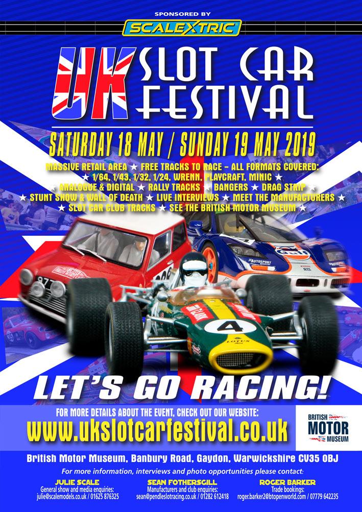 UK Slot Car Festival 2019 - May 18-19