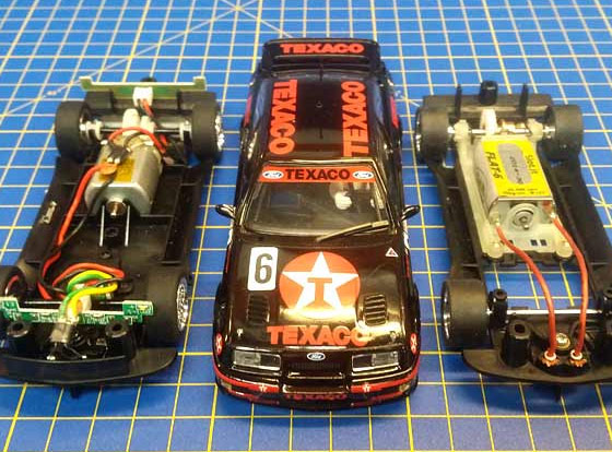 Scalextric PCR Build