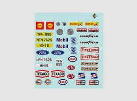 Scalextric Decals