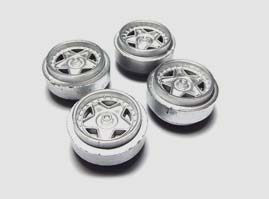 Scalextric Wheels
