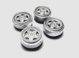 Scalextric Wheels